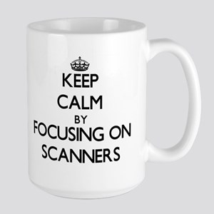 Keep Calm by focusing on Scanners Mugs