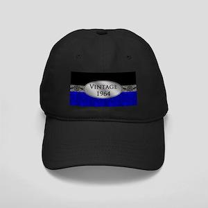 Fancy 1964 Birth Year Black Cap