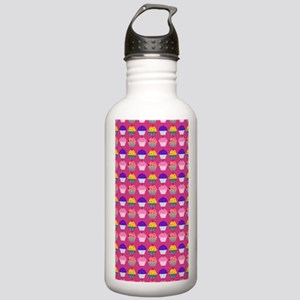 Yummy Sweet Cupcake Pa Stainless Water Bottle 1.0L