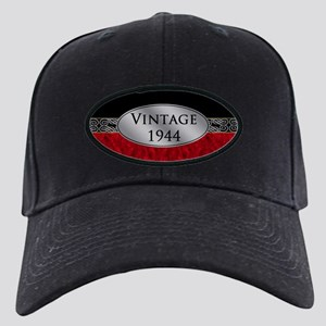 Fancy 1944 Birth Year Black Cap