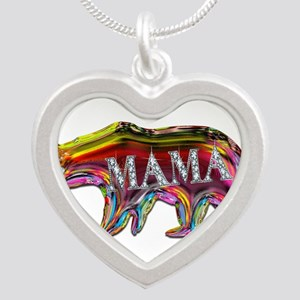 colorful mama bear Necklaces