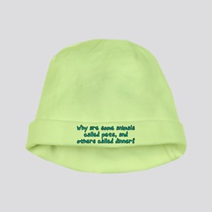 Pets or dinner? baby hat