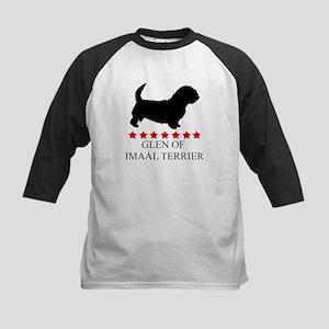 Glen Of Imaal Terrier (red st Kids Baseball Jersey