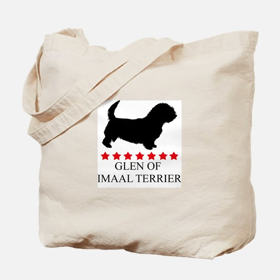 Glen Of Imaal Terrier (red st Tote Bag