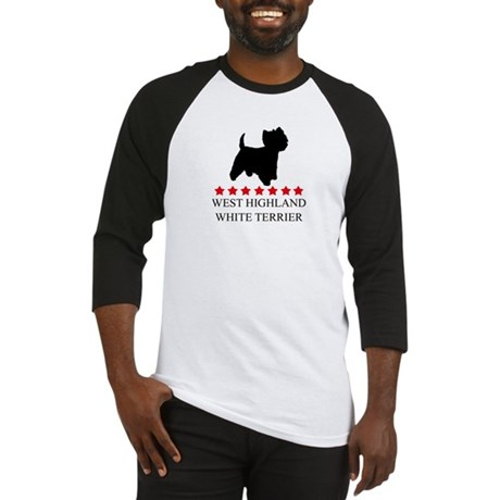 West Highland White Terrier ( Baseball Jersey
