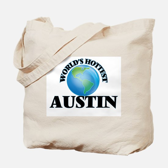 World's Hottest Austin Tote Bag