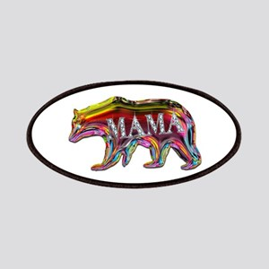 colorful mama bear Patch