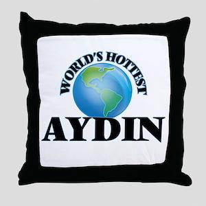 World's Hottest Aydin Throw Pillow