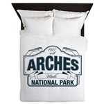 Arches National Park V. Blue Queen Duvet