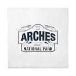 Arches National Park V. Blue Queen Duvet