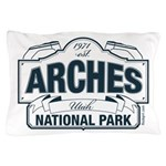 Arches National Park V. Blue Pillow Case