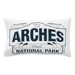 Arches National Park V. Blue Pillow Case