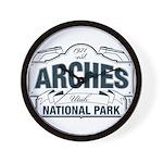Arches National Park V. Blue Wall Clock