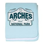 Arches National Park V. Blue baby blanket