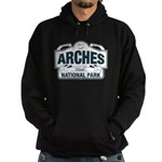 Arches National Park V. Blue Hoodie