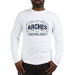 Arches National Park V. Blue Long Sleeve T-Shirt