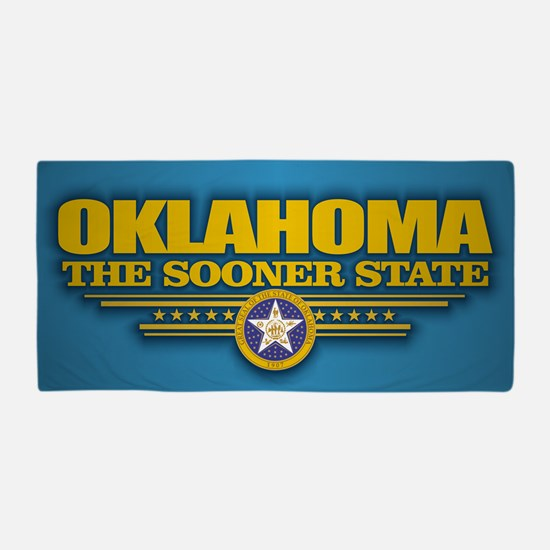 Oklahoma (v15) Beach Towel