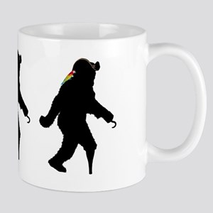 Gone Squatchin' Fer Buried Treasure  Mug