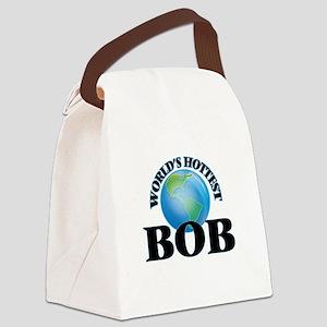 World's Hottest Bob Canvas Lunch Bag