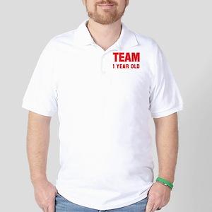 Team 1 YEAR OLD Golf Shirt