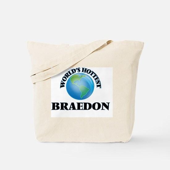 World's Hottest Braedon Tote Bag