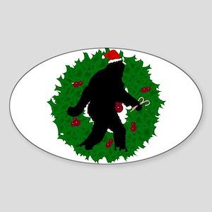 Gone Christmas Squatchin' Sticker