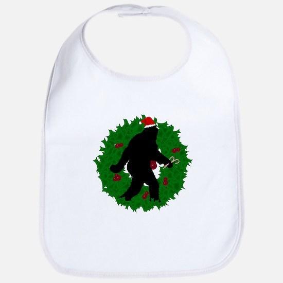 Gone Christmas Squatchin' Bib