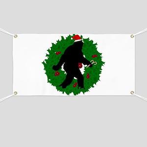 Gone Christmas Squatchin' Banner