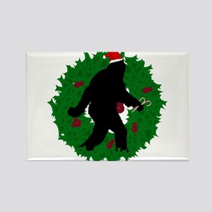 Gone Christmas Squatchin' Magnets