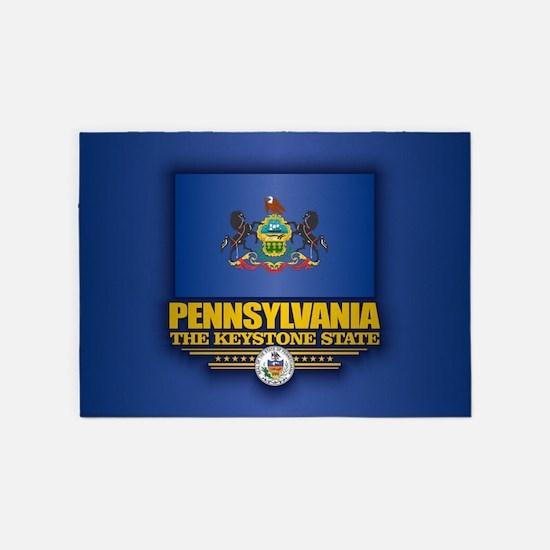 Pennsylvania (v15) 5'x7'Area Rug