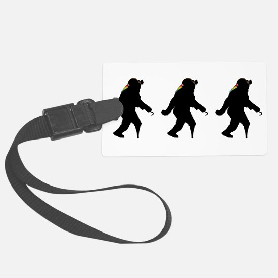 Gone Squatchin' Fer Buried Treas Luggage Tag