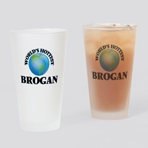 World's Hottest Brogan Drinking Glass