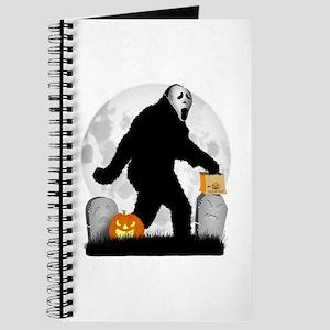 Gone Halloween Squatchin' Journal