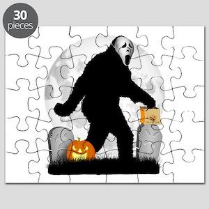 Gone Halloween Squatchin' Puzzle