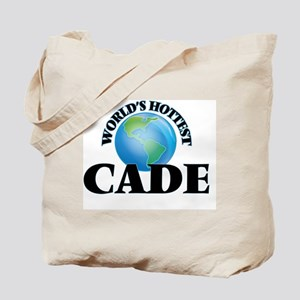World's Hottest Cade Tote Bag