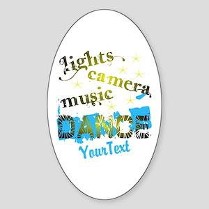 CUSTOMIZE Text Dance Sticker