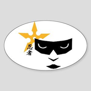 Ninja Mask Sticker