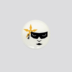Ninja Mask Mini Button