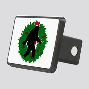 Gone Christmas Squatchin' Rectangular Hitch Cover