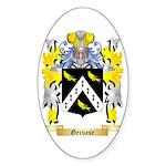 Gervase Sticker (Oval)