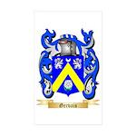 Gervais Sticker (Rectangle 10 pk)