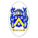 Gervais Sticker (Oval 50 pk)