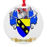 Gertzog Round Ornament