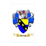 Gertzog Sticker (Rectangle 50 pk)
