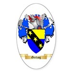 Gertzog Sticker (Oval)