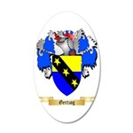 Gertzog 35x21 Oval Wall Decal