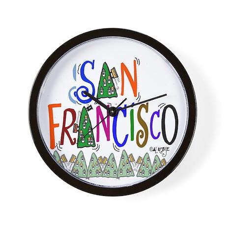San Francisco Gift Wall Clock
