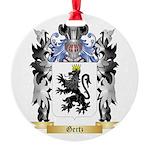 Gertz Round Ornament