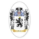 Gertz Sticker (Oval 50 pk)