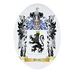 Gertz Ornament (Oval)